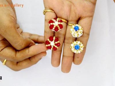 How to make earrings | how to make studs | jewellery making | #diy | #131