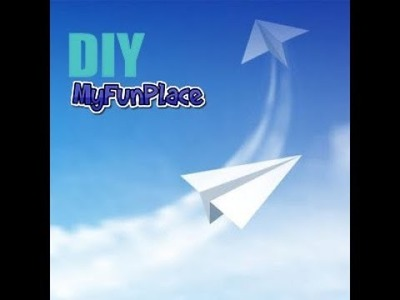 How To Make Easy - Fast - Fly Far Paper Airplanes