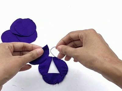 How To Make Fabric Flowers For Headbands