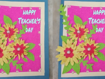 How to make greeting card for Teacher's Day |easy and simple