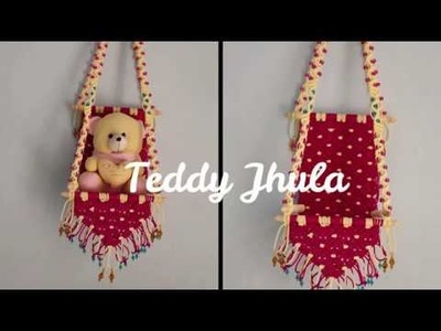 How to make macrame Teddy Jhula
