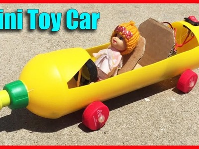 How to Make Mini Car Toy For Kids DIY at Home - Life Hacks