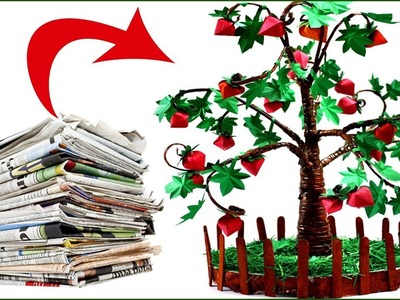 How to Make Paper Tree | How to Make Paper Tree for School Project | Paper Tree | #Tree | #Papertree