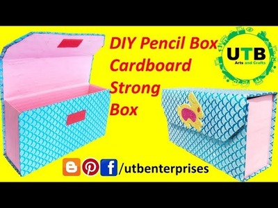 How to make Pencil Box at home easy for School