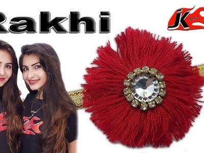 How to make rakhi at home  - raksha bandhan 2018 - JK Arts 1483