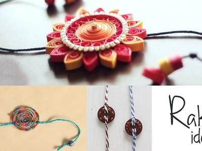 How to make Rakhi   Rakhi Making   Handmade Rakhi Tutorial