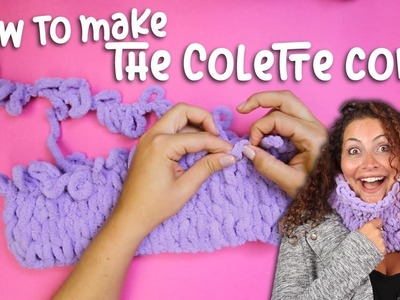 How to make the Colette Cowl with Off the Hook!
