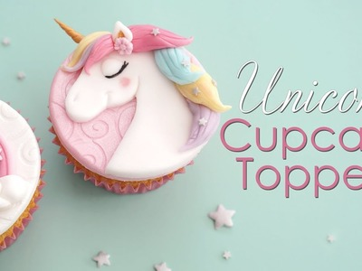 How to Make Unicorn and Rainbow Cupcake Toppers