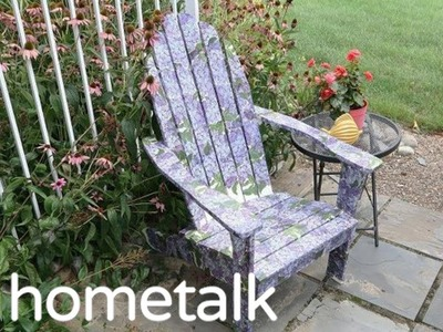 How To Makeover An Adirondack Chair | Hometalk