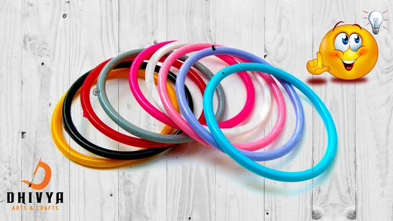 How to reuse old bangles at home | best out of waste idea | amazing craft idea | #diy | #135