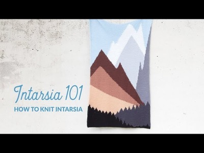 Intarsia 101: How to knit intarsia   Hands Occupied