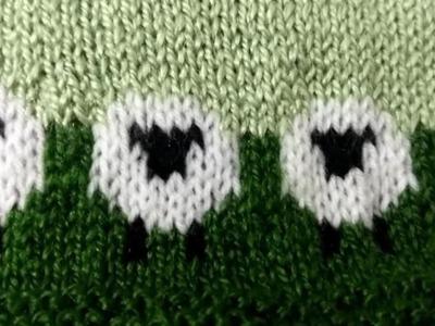 New born baby sheep knitting pattern Part - 2 Radhey Radhey.