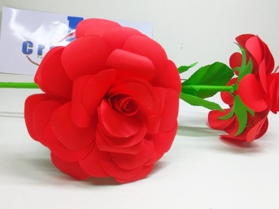 Paper how to make paper roses easy to make crafts paper flowers origami rose flower how to make small rose paper flower mightylinksfo
