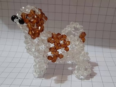 Part 02 - How to make a beaded dog