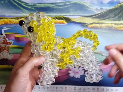 Part 03- How to make a beaded dog