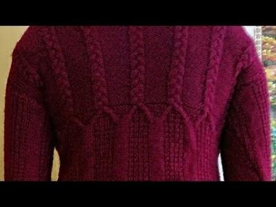 #Part-4 पूरा स्वेटर बनाना सीखे. स्वेटर की बाजु बनाना सीखे.How to make a Sweater:Design-190