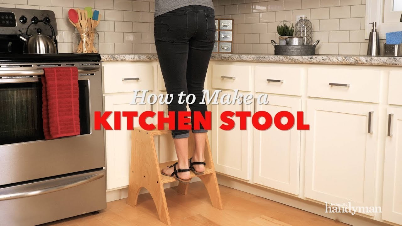 Saturday Morning Workshop | How to Build a Kitchen Stool