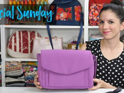 Sewcial Sunday - How to Make an Adjustable Strap 2 Different Ways
