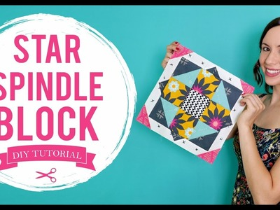"""Update your Space - How to Make a """"Star Spindle"""" Block Tutorial"""