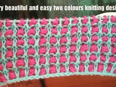 Very beautiful and easy knitting design for ladies and babies sweater in Hindi (English subtitles).