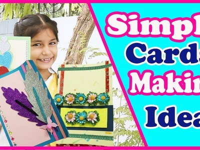 3 Diy Greeting Cards, Handmade Cards???????? ,How to make Cards, for kids (2018)