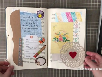 Altered Book Junk Journals - How I use them - Liz The Paper Project