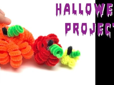 Art and Crafts Ideas for Halloween How to Make Mini Pumpkins