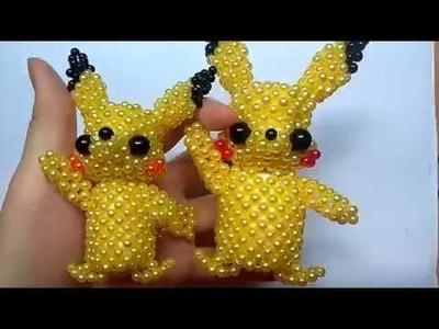 Beads - How to make keychains: Pikachu 1.5
