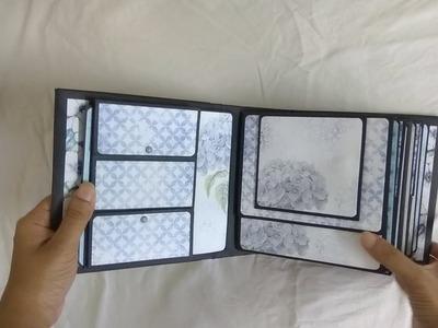 Beautiful Scrapbook for Birthday | Handmade Scrapbook Ideas | Birthday Mini Album