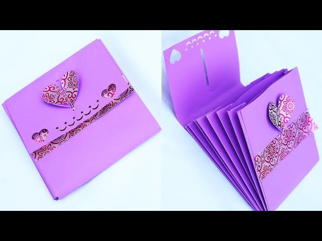 Hand Made Paper Gift Bag For  Your Best Friend - How To Make Gift Bag Full Tutorial