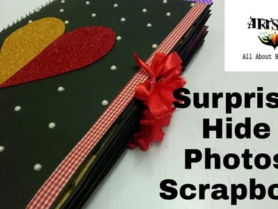Hide Photos Scrapbook  Surprise photos in Every Page   special Scrapbook