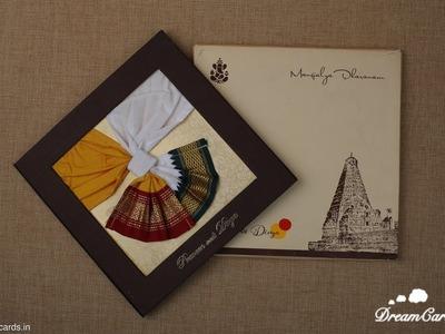 How a Indian Handmade Wedding Invitation made.