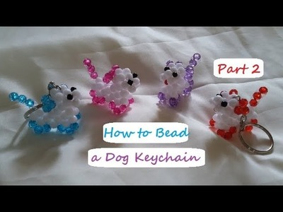 How to Bead a Dog Keychain Part 2