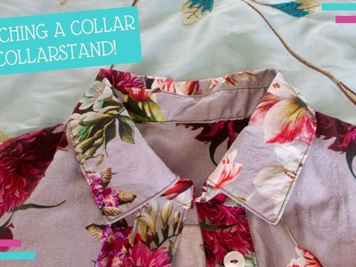 How To. How I :: Sewing a Collar with Collar Stand