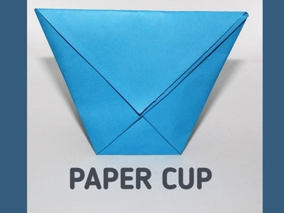 How To Make a Paper Cup | Origami Easy Tutorial