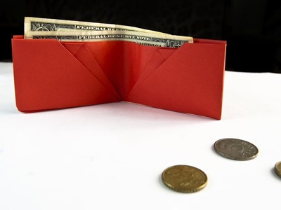 How To Make a Simple Wallet - Origami Wallet