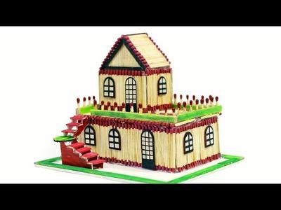 How to Make a Wonderful Match stick House