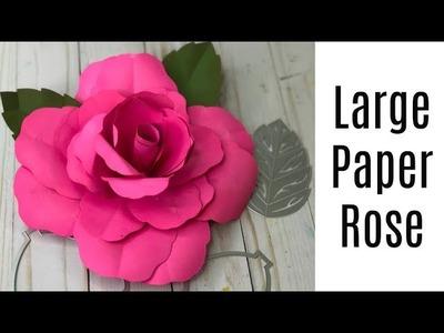 How to make David Tutera's Large Paper Rose