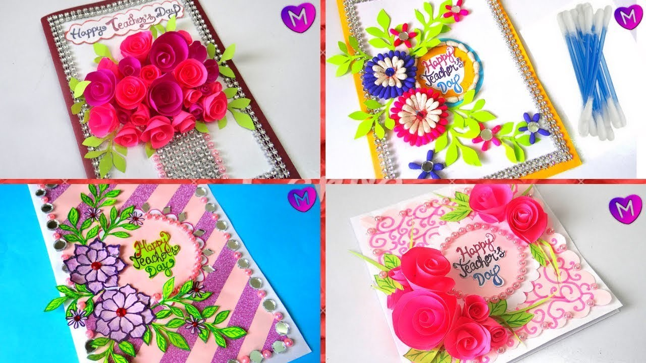 how to make greeting cards for teachers day 5 latest