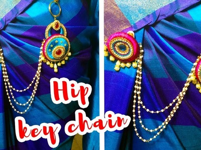 How to Make Handmade Hip KeyChain Step by Step | Homemade Jewellery Making | Hairstyles and fashions