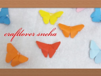 How to make paper butterfly  very easy