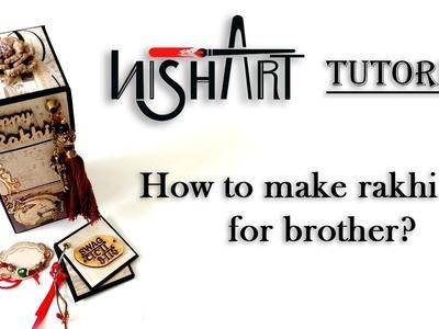 How to make Rakhi Gift for Brother | Handmade Rakshabandhan Gift |  By Nisha Art