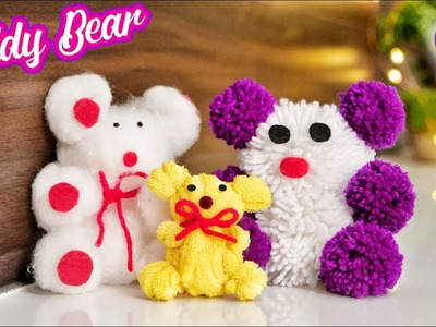 How to make teddy bear at home | Best out of waste | Artkala