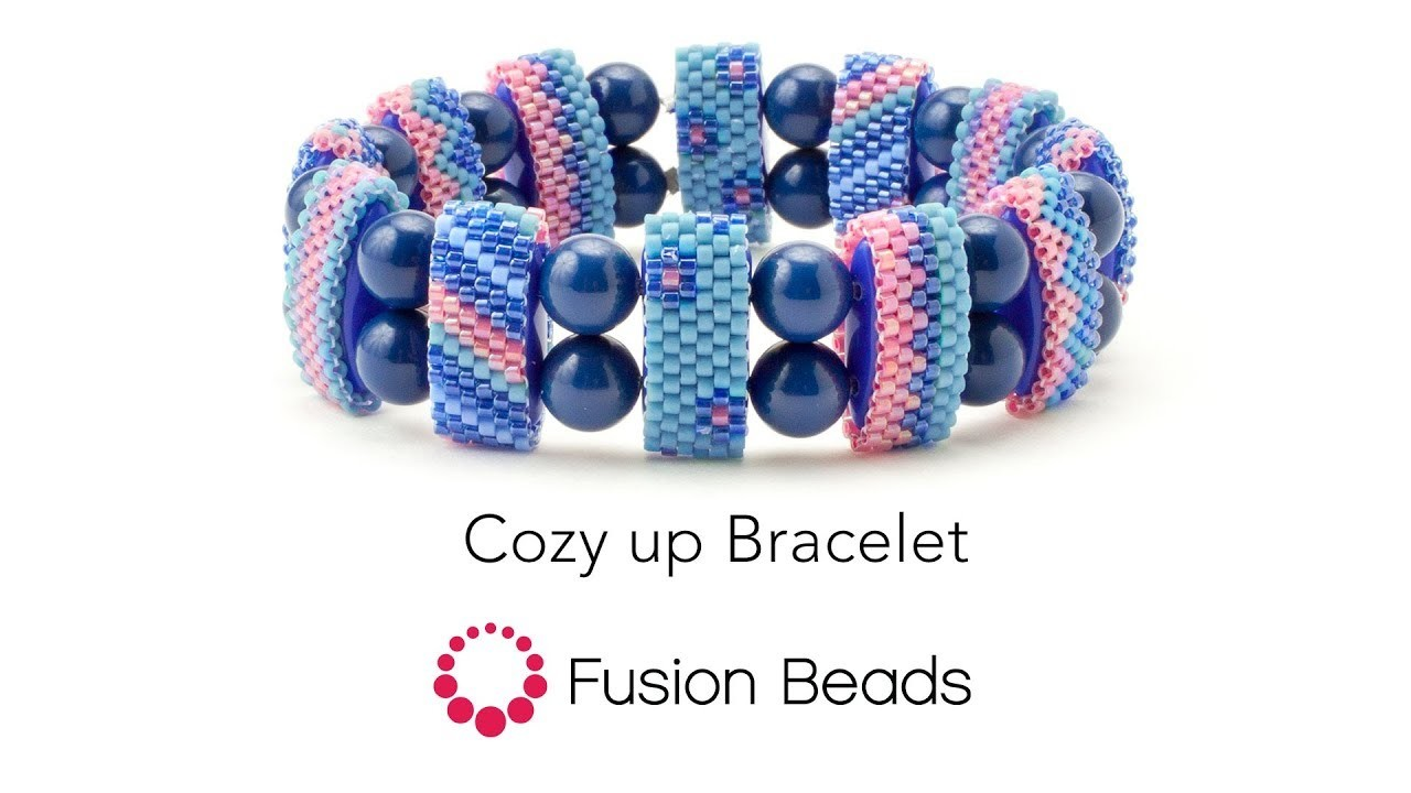Learn how to create the Cozy up Bracelet by Fusion Beads