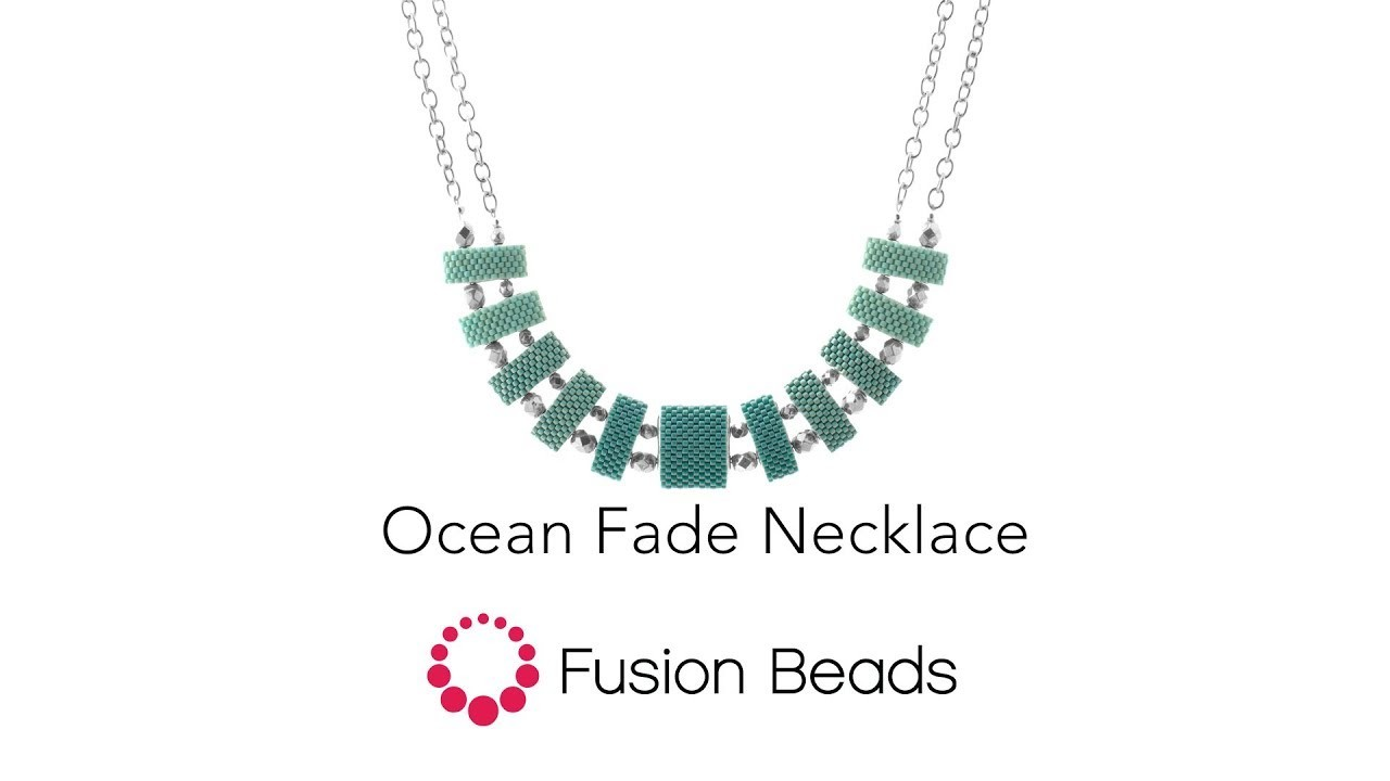 Learn how to create the Ocean Fade Necklace by Fusion Beads