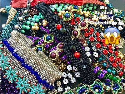 My Beaded Bracelet Collections. Beaded bracelets.DIY Bracelets