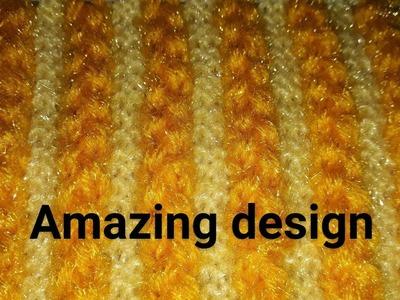 New knitting design|knitting ladies design|kids design|jents design|amazing design|two colour design