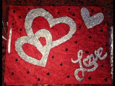 Scrapbook for couples || Love scrapbook || Anniversary scrapbook || Valentine's scrapbook