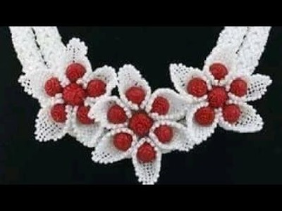 Tutorial On How To Bead  Flower Brooch