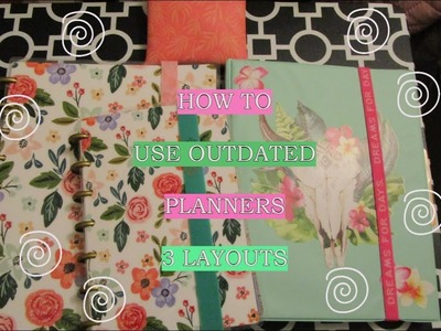 ????Wait Before You Waste???? How To Put Outdated Planners To Use. Kreative Kulinarian